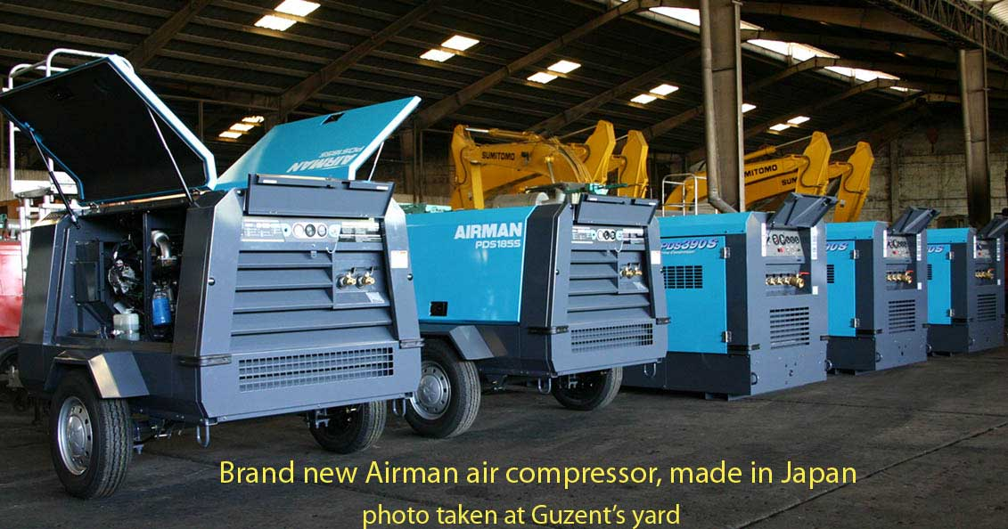 air compressor sales rentals